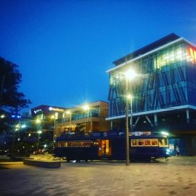 Christchurch Tram Restaurant by Designer Cottage B&B