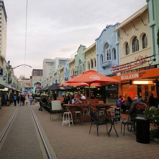 Christchurch B&B New Regent Street