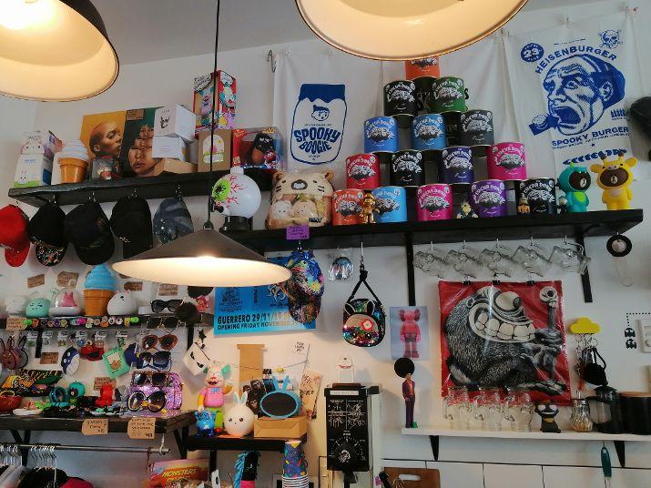 Christchurch B&B Spooky Boogie cafe counter
