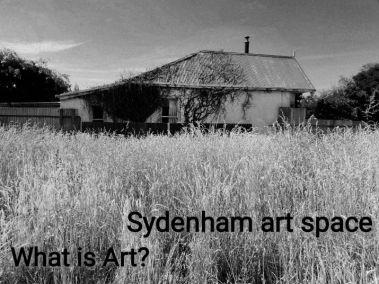 Sydenham Art Space what is art